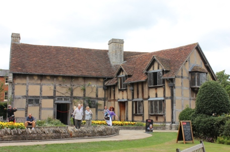 Shakespears birthplace- Stratford