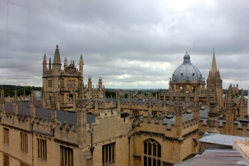 View from the Shakespear Theatre, University of Oxford