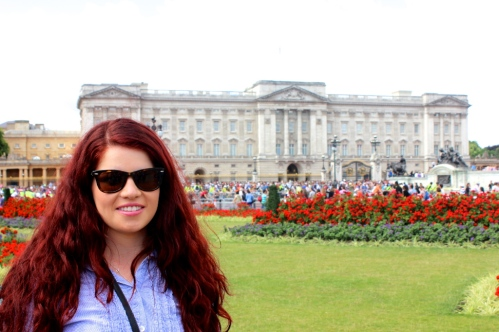 The Queen at Buckingham Palace... just kidding its only me.