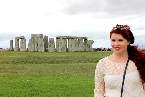 A very squinty Stonehenge