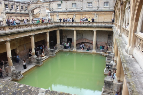 The Roman Baths - natural hot springs