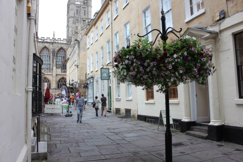 the streets of Bath