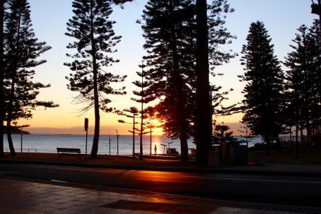 Dee Why Beach at sunrise