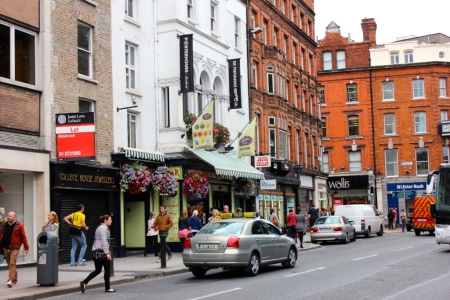 Hustling Dublin Streets