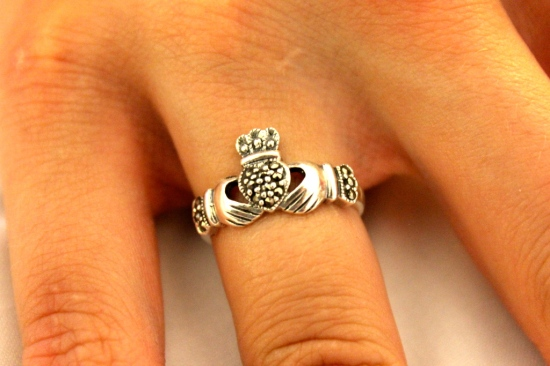 My lovely Claddagh Ring